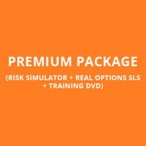 PREMIUM PACKAGE (RISK SIMULATOR + REAL OPTIONS SLS + TRAINING DVD)