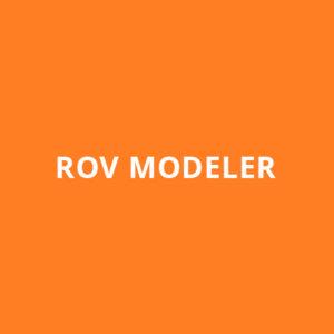 ROV MODELER